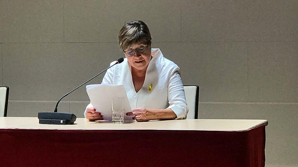 Photo of Pregó de la Festa Major d'Hostafrancs a càrrec de Carme Parramon