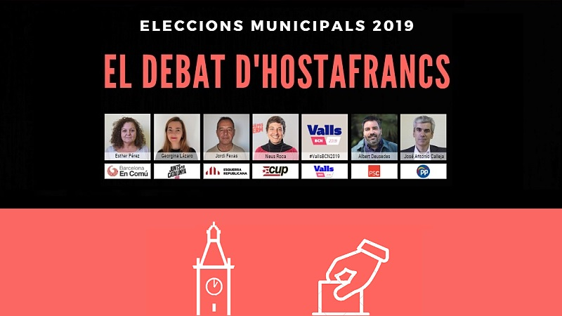 Photo of Les set candidatures amb representació municipal participaran en 'El Debat d'Hostafrancs'