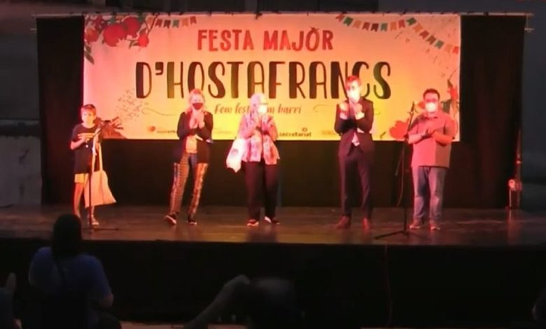 Photo of  ▶ VÍDEO   'Toc de Festa', l'acte d'inici de la Festa Major d'Hostafrancs 2020