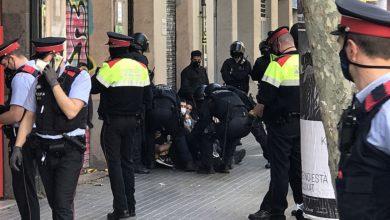 "Photo of Desnonament ""espectacle"" al carrer Consell de Cent"